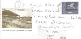 """2003 Entier-postal, PAP, """"stade Olympique De Colombes En 1924"""" - Estate 1924: Paris"""