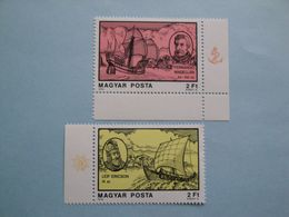 Bateaux 1978 Hongrie Yv 2612 - 2615  ** MNH  Ships  Christophe  Colomb - Hongrie