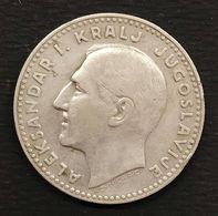 YUGOSLAVIA 20 Dinara 1931  Alexander I D.1105 - Yugoslavia