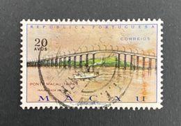 MAC5435U - Macau-Taipa Bridge 20 Avos Used Stamp - Macau 1974 - Macao