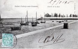SAINT VALERY SUR SOMME   Quelques Bâteaux Dans L'entrée De La Baie - Saint Valery Sur Somme