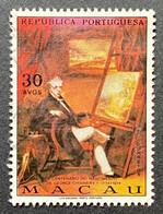MAC5437U - Bicentenary Of George Chinnery's Birth 30 Avos Used Stamp - Macau 1974 - Macao
