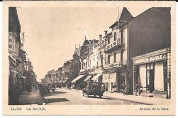 Cpa La Baule - Avenue De La Gare . - La Baule-Escoublac
