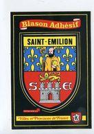 Blason.Ecusson Adhésif Autocollant. - Saint-Emilion