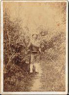 Belle Photo D'époque Sur Support Cartonné  Militaire (aucune Indication Apportée) - War, Military