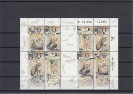Israel 2000 - Mini Sheetlet MNH ** Endangered Animals Fox WWF - Israel