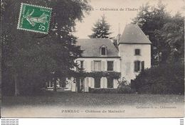 36 . Indre : Parnac  : Chateau De Mainclef . - Autres Communes