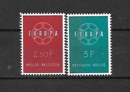 BELGIO - 1959 - N. 1111/12** (CATALOGO UNIFICATO) - Ongebruikt
