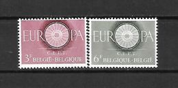 BELGIO - 1960 - N. 1150/51** - N. 1152** (CATALOGO UNIFICATO) - Ongebruikt