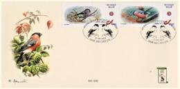 FDC 30 Jaar S.P.A.B. Goudvink (oplage 200) - 1985-.. Oiseaux (Buzin)