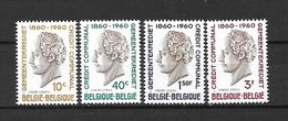 BELGIO - 1960 - N. 1159/62** (CATALOGO UNIFICATO) - Ongebruikt