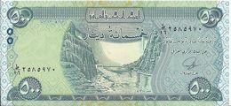 IRAQ - 500 Dinars 2013 UNC - Iraq