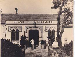 ITALIE TAORMINA TAORMINE Grand Hôtel Miramare 1926 Photo Amateur Format Environ 11 Cm X 8,5 Cm - Lieux