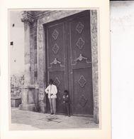 ITALIE TAORMINA TAORMINE Cathédrale 1926 Photo Amateur Format Environ 11 Cm X 8,5 Cm - Lieux