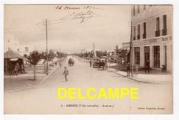 DF / MAROC / MEKNÈS (VILLE NOUVELLE) / AVENUE J / VOLUBILIS HÔTEL / ANIMÉE / 1922 - Meknes