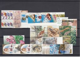 Israel - Lot Modern MNH ** Stamps With Tabs - Israël