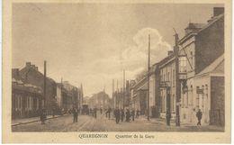 QUAREGNON : Quartier De La Gare - Cachet De La Poste 1925 - Quaregnon