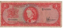 TRINIDAD & TOBAGO   $ 1   (  Queen Elizabeth II)  P26c   Sign. Bruce - Trinité & Tobago