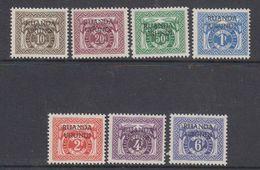 Ruanda-Urundi 1959 Stafport 7w ** Mnh (48075C) - Segnatasse: Nuovi