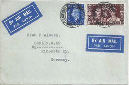 Airmail Briefvs  Campbeltown - Berlin           1937 - 1902-1951 (Kings)