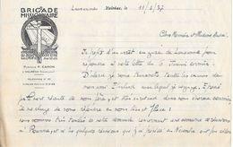 1937 - Brigade Missionnaire Pasteur P. CARON  à Valréas (Vaucluse) Téléphone N° 21 - Historical Documents
