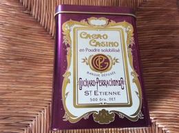 BOITE METAL CACAO CASINO  Poudre Solubilise  GUICHARD-PERRACHON & CIE  St Étienne - Boxes