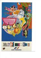 26096 - Roger Bezombes Vie Du Monde Raffinements Edition Air France (format 10X15) - Autres Illustrateurs