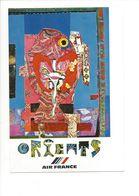 26098 - Roger Bezombes Vie Du Monde Orients Edition Air France (format 10X15) - Autres Illustrateurs