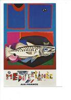 26103 - Roger Bezombes Vie Du Monde Méditerranée Edition Air France (format 10X15) - Autres Illustrateurs