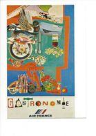 26104 - Roger Bezombes Vie Du Monde Gastronomie Edition Air France (format 10X15) - Autres Illustrateurs