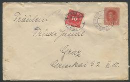 ÖSTERREICH / Nachportobrief Von Ribnica (Reifnitz) Nach Graz - Covers & Documents