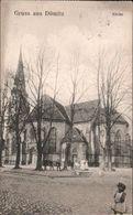 ! Alte Ansichtskarte Gruss Aus Dömitz, Kirche, 1912, Mecklenburg - Dömitz