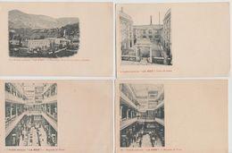 LOT DE 18 CARTES  SUR LA SOCIETE ( LA SOIE )  EURE / PARIS / DROME / EXPOSITION DE 1900 / MAGASIN DE VENTE - Ohne Zuordnung