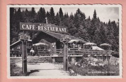 OUDE POSTKAART ZWITSERLAND -  SUISSE -  LA GIVRINE  - CAFE - VD Vaud