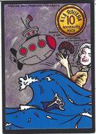 CPM Timbre Monnaie Tirage Limité Numéroté Signé En 30 Exemplaires Pin Up Sous Marin Miroir Aux Alouettes - Timbres (représentations)