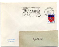 YVELINES - Dépt N° 78 = HOUILLES 1967 = FLAMME Codée = SECAP  ' N° De CODE POSTAL / PENSEZ-Y ' - Postleitzahl