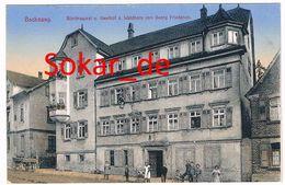 AK Backnang Feldpost 1917, Brauerei Und Gasthof Waldhorn, Rems-Murr-Kreis, Bez Stuttgart, Baden-Württemberg - Backnang