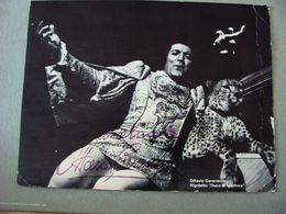 Autografo Tenore Ottavio Garaventa Rigoletto   ENORME FOTO TEATRO   THEATRE   Théâtre STAGIONE LIRICA OPERA - Toneel & Vermommingen