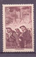 FRANCE 1938: YT 390, * MH - LIVRAISON GRATUITE A PARTIR DE 10 EUROS - Ongebruikt