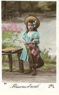 Carte Postale Ancienne Fantaisie - 1er Avril - Poissons - - 1 De April (pescado De Abril)