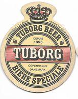 SOUS-BOCK - TUBORG BEER - COPENHAGUE DANEMARK - Sous-bocks