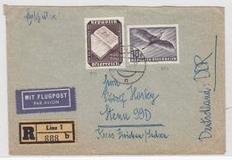 Österreich FLP+R-Brief Mit MIF Nach Stenn AKs - 1945-.... 2de Republiek