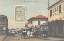 Madagascar - DIEGO SUAREZ - Coiffeur C. Déjean, Rue Colbert - Madagascar