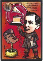 CPM Timbre Monnaie Tirage Limité Numéroté Signé En 30 Exemplaires Marconi TSF Mussolini - Timbres (représentations)