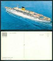 BARCOS SHIP BATEAU PAQUEBOT STEAMER [BARCOS # 02737 ] - MS RIVIERA - CARIBBEAN CRUISE LINES - RIVIERA CRUISES - Dampfer