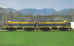 Intervale New Hampshire NH - Hartman Model Railroad & Toy Museum - Train Locomotive - Unused - 2 Scans - Etats-Unis
