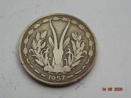 25 Francs Cfa AFRIque Occidentale Francaise - Togo -institut D'emission 1957 - Münzen