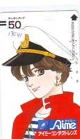 Télécarte Japon * 110-15913 * MANGA * AIME * ANIME Japan (17041)  FRONT BAR * Phonecard * Balken Telefonkarte - BD