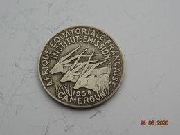 10 Francs Cfa AFRIQUE EQUATORIALE FRANCAISE - CAMEROUN - 1958 - Münzen