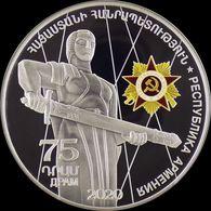 ARMENIA 75 DRAM COIN 2020 The 75 Year Anniversary Of The Victory In World War - Armenia